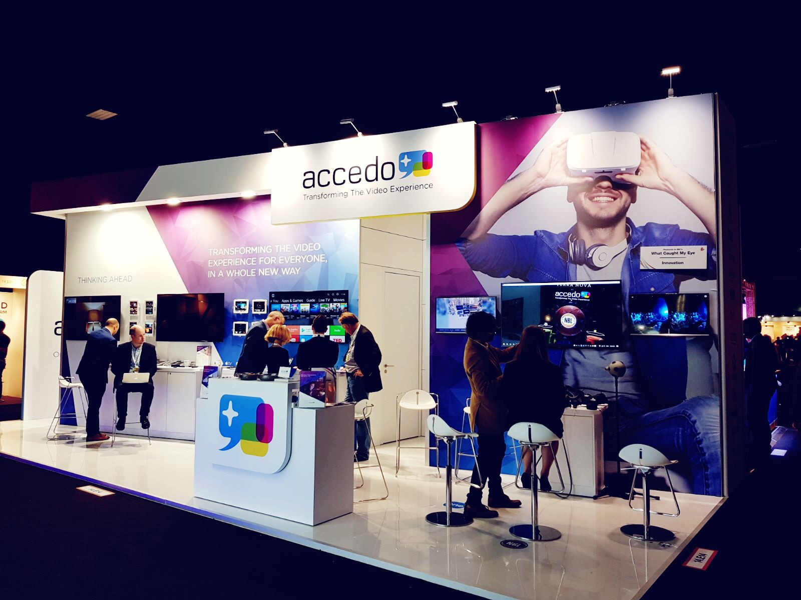 Reinvent – Transform – Shine @ IBC 2018 With Accedo